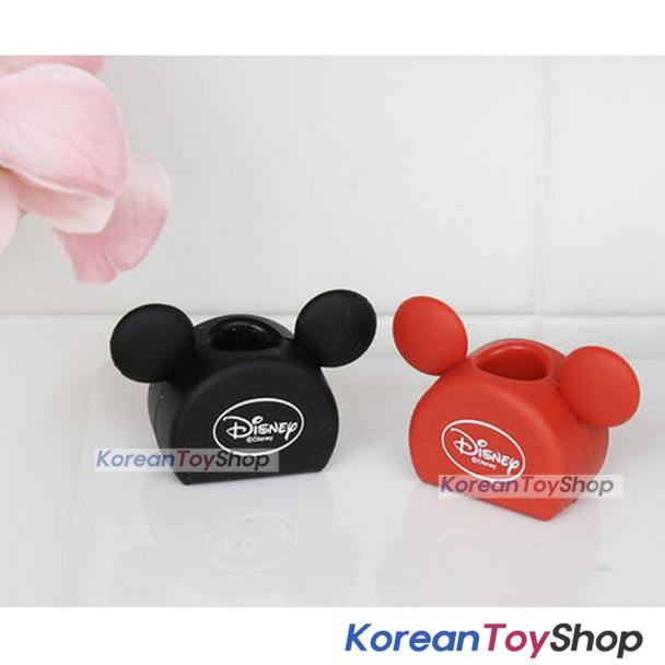 Mickey Mouse cute Toothbrush Holder Stand for Bathroom Family Travel Couple 2pcs
