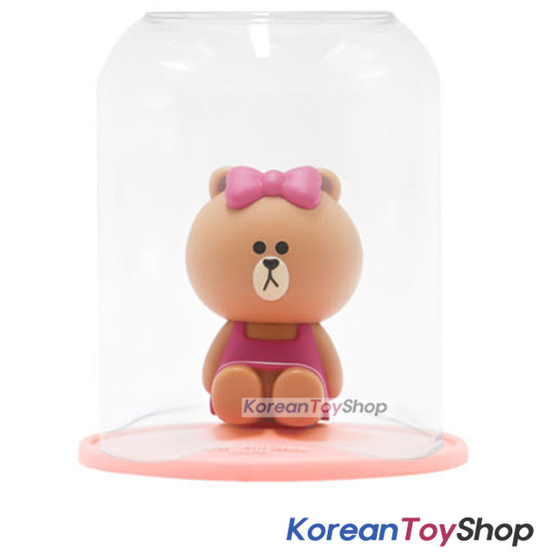 LINE Friends Toothbrush Holder & Cup Set CHOCO Model Made in Korea Original