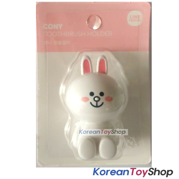 LINE Friends Toothbrush Holder Cony Model Mirror Suction Holder Original