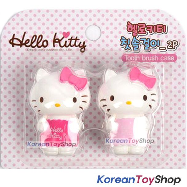 Hello Kitty cute Toothbrush Holder 2pcs Mirror Suction Holder Original