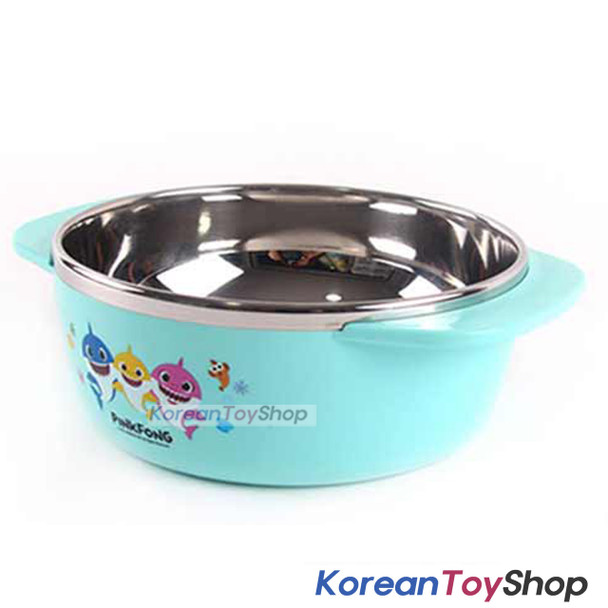 PINKFONG Stainless Steel Bowl 250ml Handle Non-slip BPA Free Original