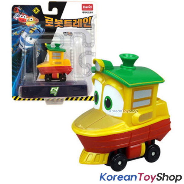 "Robot Trains DUCK Diecast Plastic Mini Toy Car Season 2 Original 2"" Series"