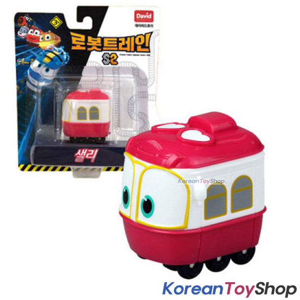 "Robot Trains SELLY Diecast Plastic Mini Toy Car Season 2 Original 2"" Series"