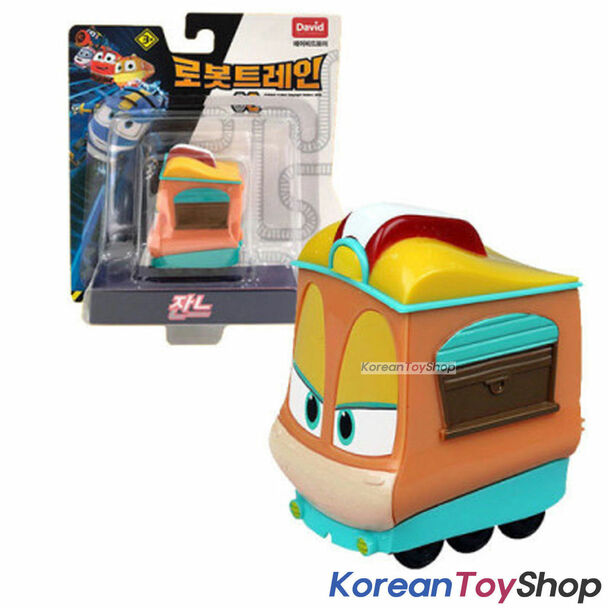 "Robot Trains JEANNE Diecast Plastic Mini Toy Car Season 2 Original 2"" Series"