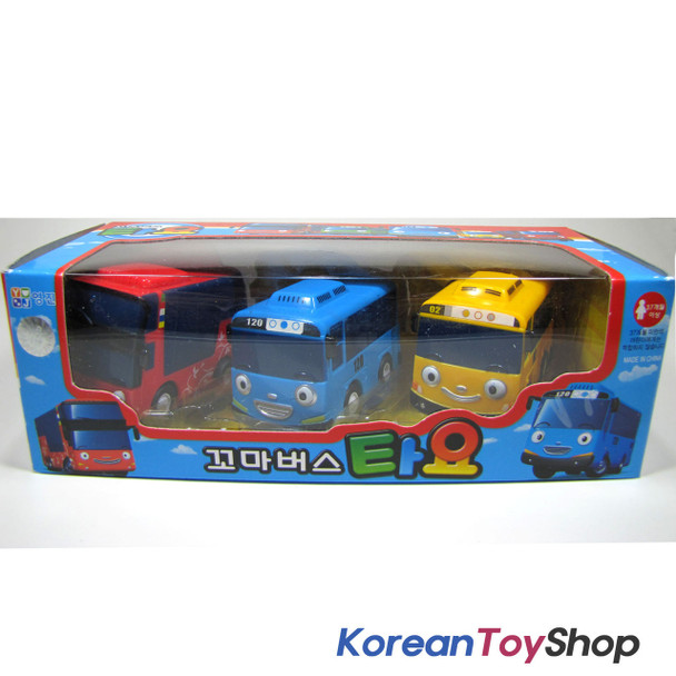 The Little Bus TAYO Bus Wind up Toy B Set(3 Cars-Tayo, Cito, Rani)