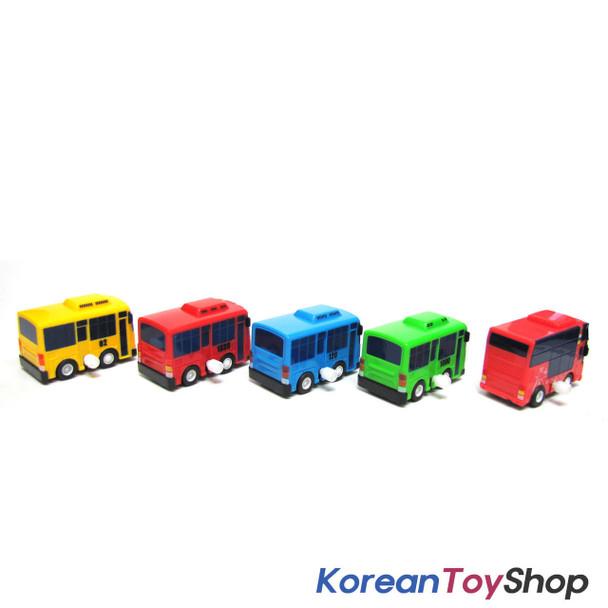 The Little Bus TAYO Bus Wind up Toy C Set(5 Cars-Tayo, Rogi, Gani, Cito, Rani)