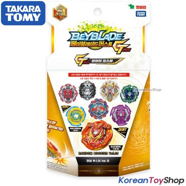 Beyblade Burst B-140 Random Booster Vol.15 Takara Tomy Original Authentic 100%