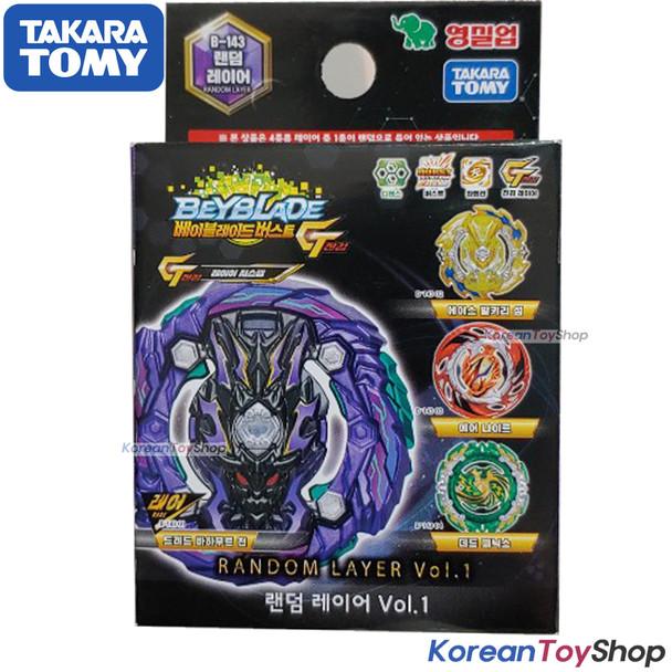 Beyblade Burst B-143 Random Layer Vol.1 GT Takara Tomy 100% Original Authentic
