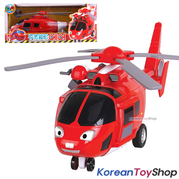 Tayo Little Bus Friend Big AIR Rescue Helicopter Toy Sound LED Lighting Effect