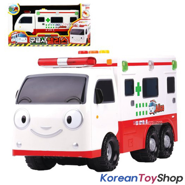 Tayo Little Bus Friend Big Ambulance ALICE Toy Car Sound LED Lighting Effect