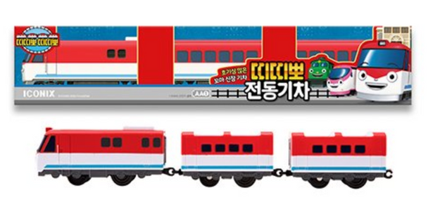 Titipo Train Series TITIPO Model Electric Powered Train Toy
