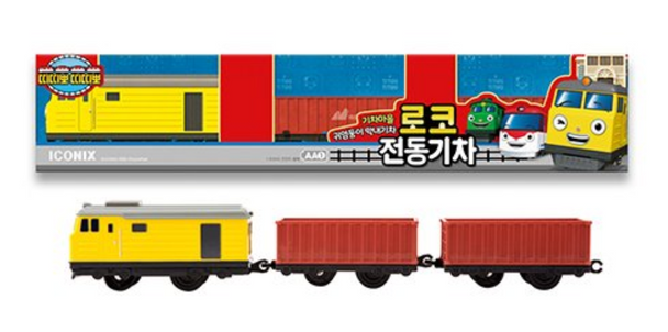 Titipo Train Series LOCO Model Electric Powered Train Toy
