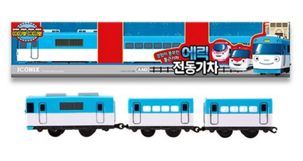 Titipo Train Series ERIC Model Electric Powered Train Toy