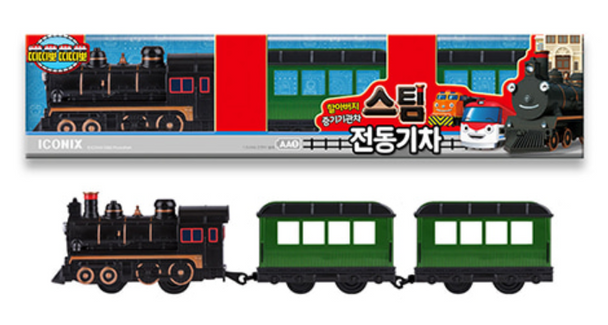 Titipo Train Series STEAM Model Electric Powered Train Toy