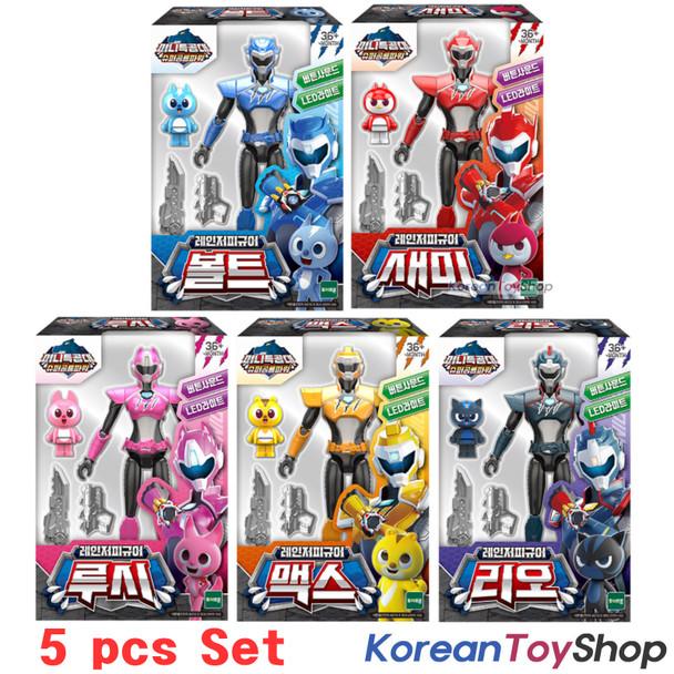 Miniforce Ranger Figure Toy 5 pcs Set VOLT SAMMY LUCY MAX LEO