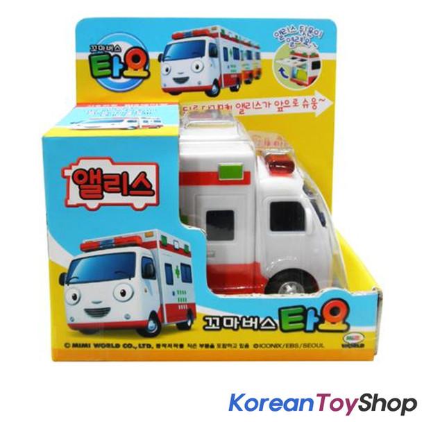 The Little Bus TAYO Main Diecast Plastic Mini Car Alice Model Ambulance Original