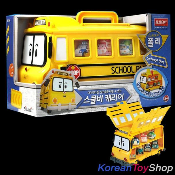 Robocar Poli School Bi Carrier Toy Car for Diecast Models Excluding Diecast Cars