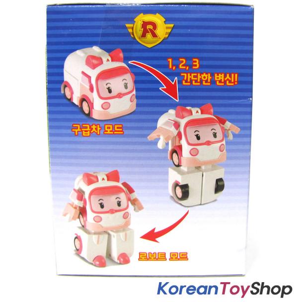 Robocar Poli Transformer 4pcs POLI ROY AMBER HELLY Robot Toy Academy Genuine