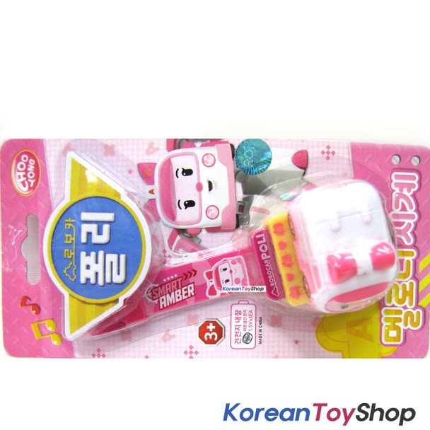 Robocar POLI Melody Watch Wrist Band Toy w/ Figure Kids Children AMBER Model