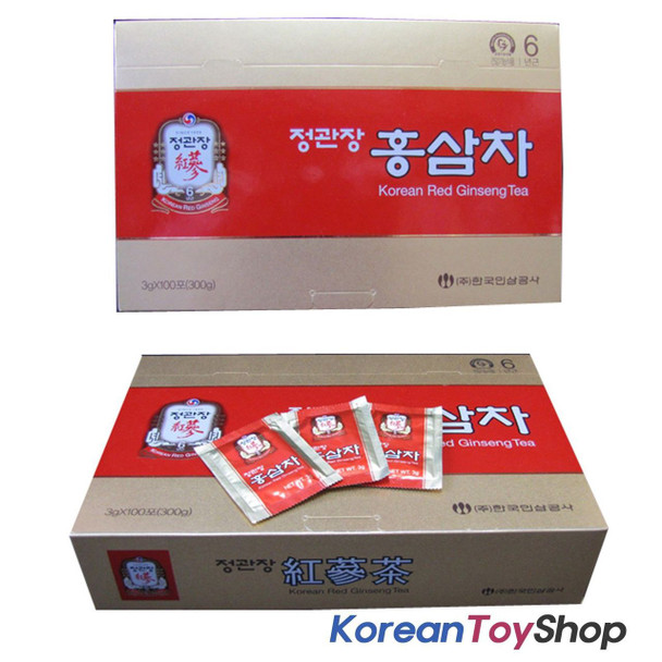 Korean Red Ginseng Tea 3g X 100ea (Cheong Kwan Jang)