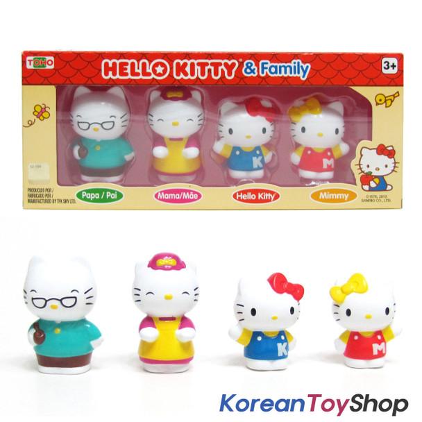 Hello Kitty & Family 4 pcs Figure Set Toy