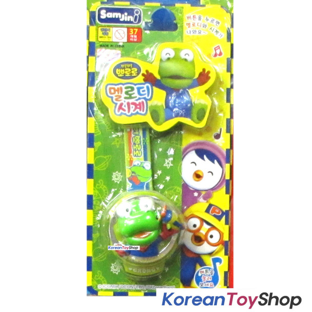 Pororo Melody Popup Watch Wrist Band Toy Kids Children CRONG Random Color
