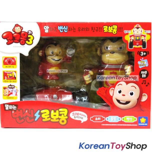 Cocomong Talking Robocong Transformer to Car Toy w/ Cocomong Figure Korean Audio