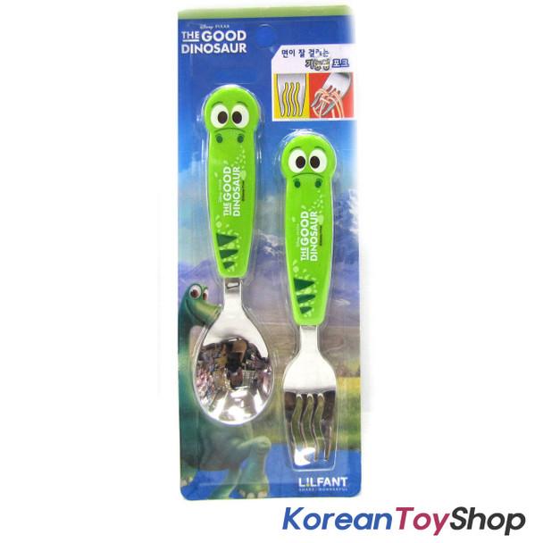 The Good Dinosaur Stainless Steel Fork Spoon Set / BPA Free