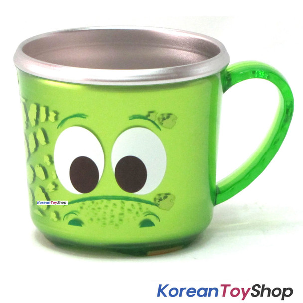 The Good Dinosaur Stainless Steel Cup w/ Non-Slip Pad BPA Free Made in Korea