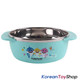 PINKFONG Stainless Steel Bowl 2 pcs, cup 1pcs, Spoon Fork Set BPA Free Original