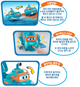 Super Wings Willy Submarine Undersea Boat Toy Motor Action LED Sound Effect