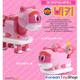 Gogo Dino VIKI DX Transformer Robot Dinosaur Car Toy Submarine Pink