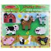 Melissa & Doug Farm Chunky 7 Piece Puzzle