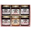Mrs. Miller's Homemade Jam Sampler 6 pack 1.5 Ounces