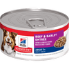 Hill's Science Diet Adult 7+ Beef & Barley Entree Canned Dog Food
