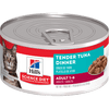 Hill's Science Diet Adult Tender Tuna Dinner Canned Cat Food, 5.5 Oz.