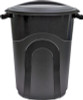 "United Solutions Plastic Black Trash Can, 32 Gal., 26.34"""