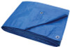 ProSource Light Duty Tarp, Blue