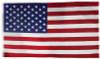 Valley Forge Nylon American Flag, 3x5'