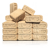 Fiber Fuel Compressed Wood Bricks, 12 CT.