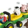 ERTL John Deere Animal Sounds Hay Ride Preschool Toy