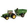 ERTL John Deere 8320R Tractor With Grain Cart
