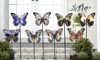 Giftcraft Iron Butterfly Design Garden Stake