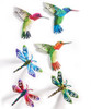 Giftcraft Dragonfly & Hummingbird Design Wall Plaque