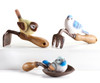 Giftcraft Bird On Garden Tool Figurine