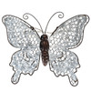 Direct International Metal And Chicken Wire Butterfly Wall Sign