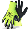 Boss Big Helper Kids Gloves with Latex Palm, Hi-Vis