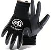 Boss Big Helper Kids Gloves with Nitrile Palm, Black