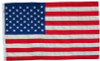 Valley Forge Sewn Cotton United States Flag, 3'x5'