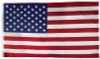 Valley Forge Sewn Nylon United States Flag, 4'x6'